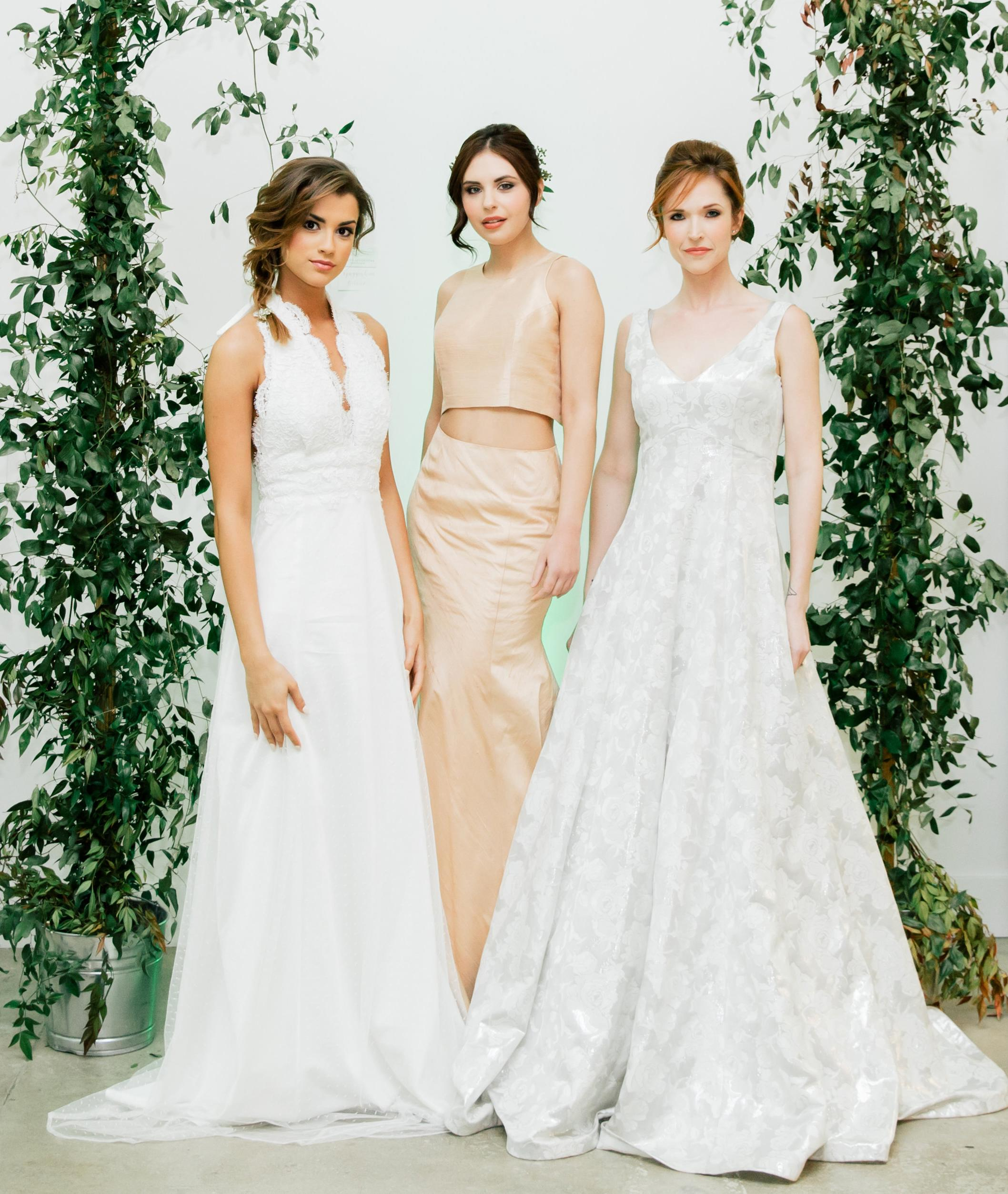 Asheville Weddings Wearing A Custom Dress Engaged Asheville