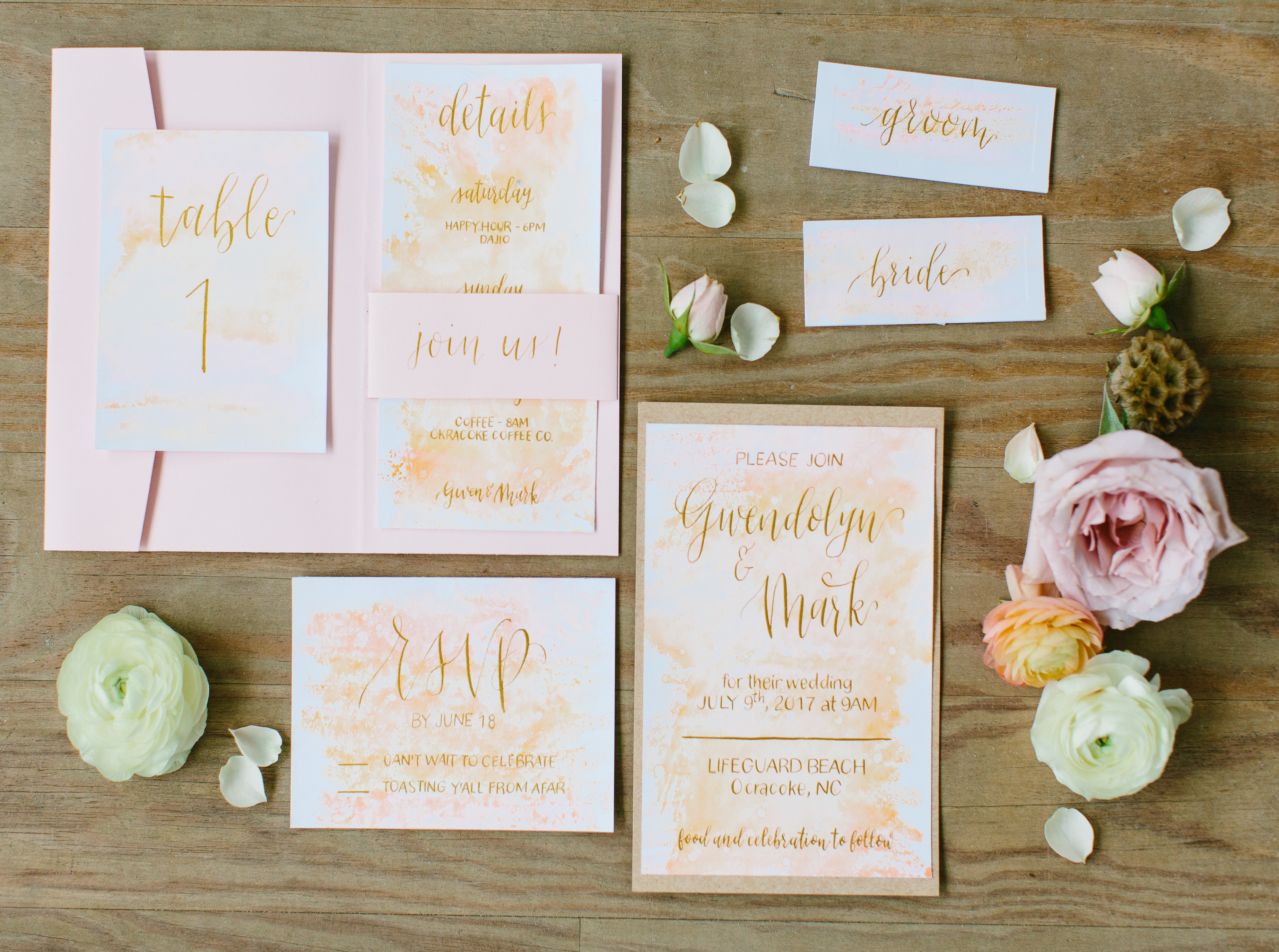 The Ultimate Guide To Wedding Calligraphy | Engaged Asheville