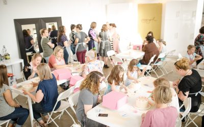 Mother's Day Cake Decorating with Dogwood Designs